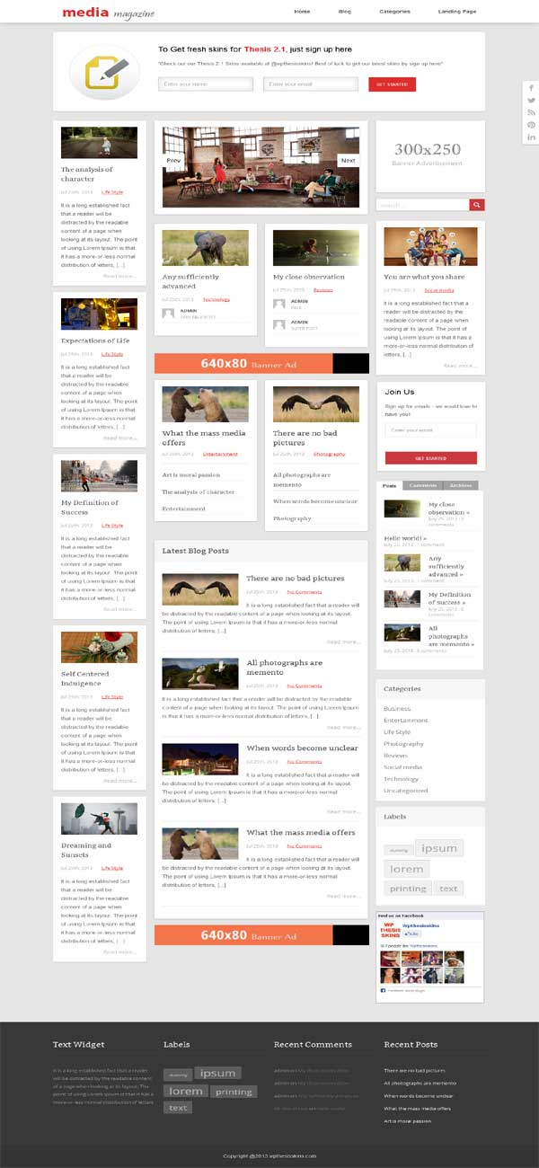 thesis 2 responsive theme (very boring, indeed)well, im writing it fine, but responsive themes for thesis turning out to be a very boring essay our themes for genesis and thesis 21.