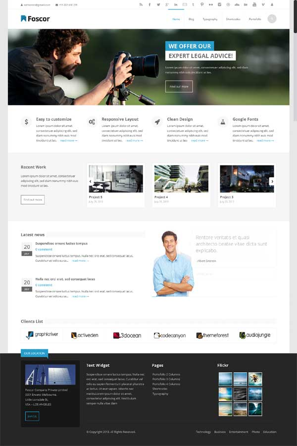 best thesis theme business skin, thesis 2.1 best responsive business skin