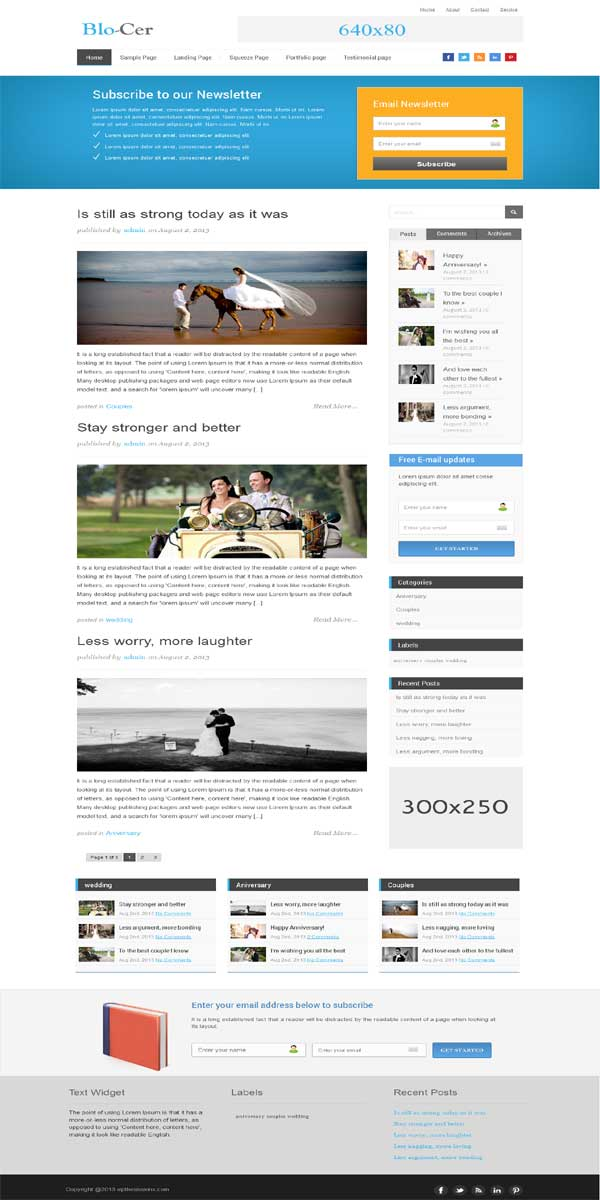 thesis theme 2.1 blog skin, internet marketer thesis theme skin