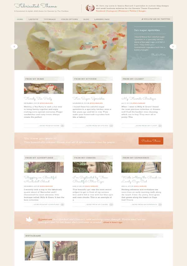 fabricated multipurpose child theme