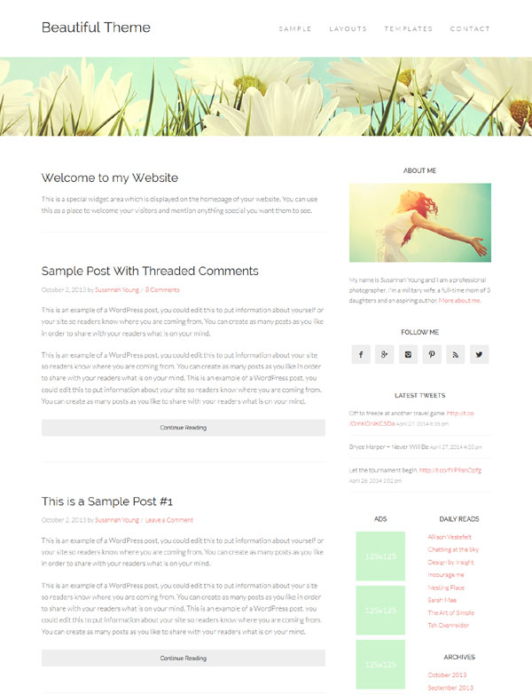 beautiful pro multipurpose child theme